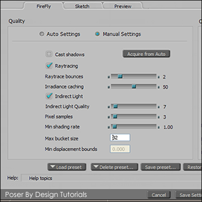 how to use poser pro